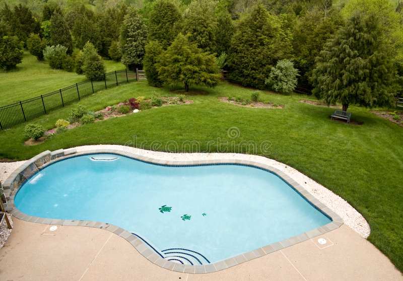 Download Overview of luxury pool stock photo. Image of beautiful - 5172194