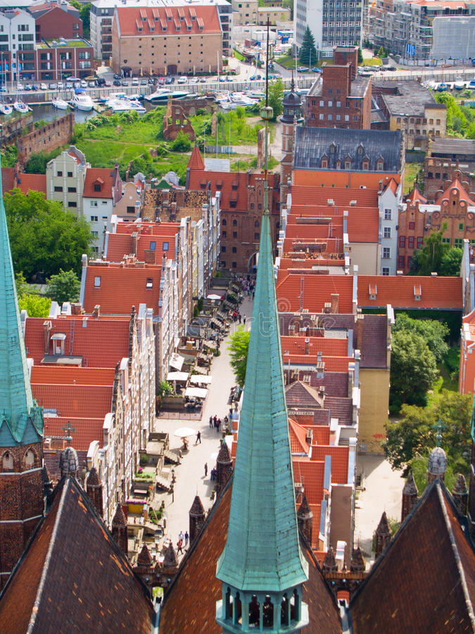 Download Overview Of Old Town, Gdansk, Poland Stock Photo - Image: 24062552