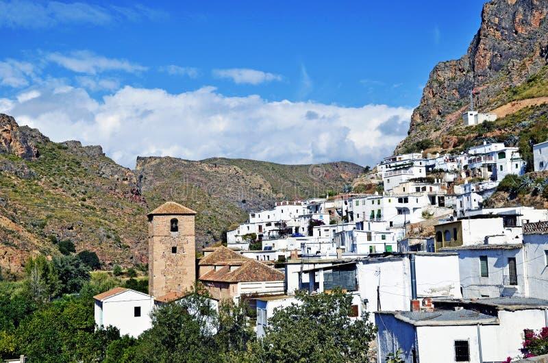 Download Overview Of Small Moorish Village In La Alpujarra Stock Image - Image: 25989581