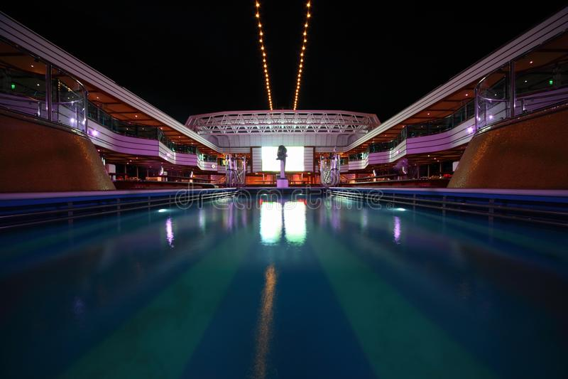 Download Overview Of Swimming Pool In The Deck Editorial Photography - Image: 17515047