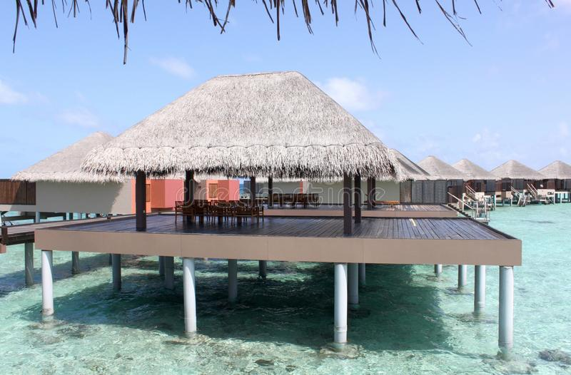 Download Overwater Bungalow Royalty Free Stock Photo - Image: 27451645