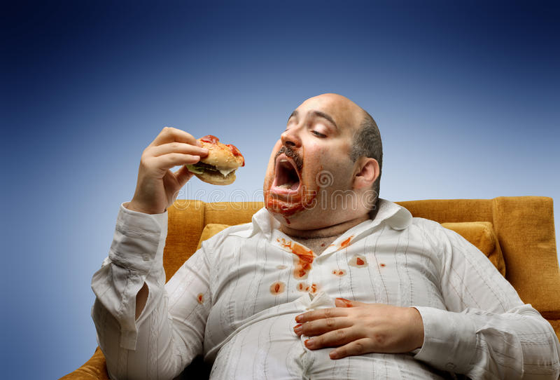Overweight stock photography