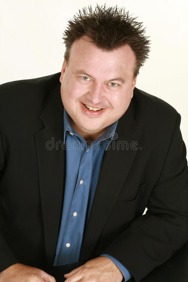 Download Overweight Caucasian Man Headshot Stock Image - Image of photo, businessman: 26212253