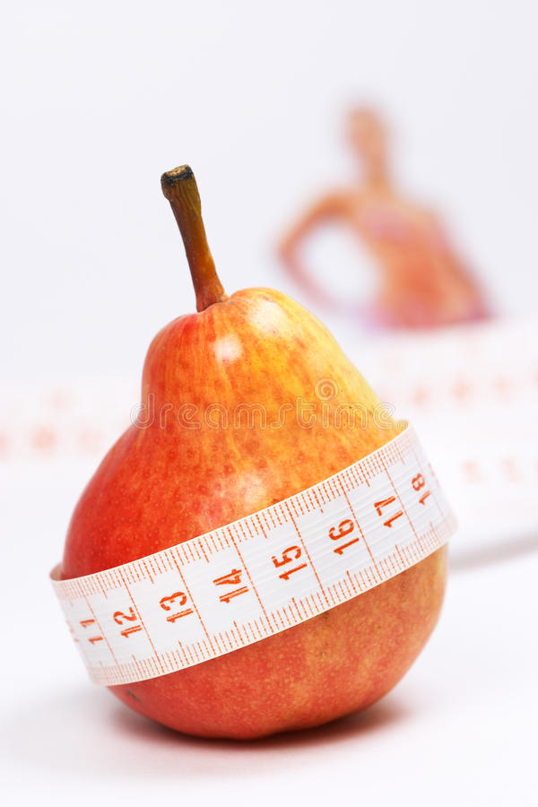 Download Overweight check-up stock image. Image of closeup, food - 9368033