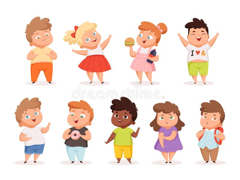 Child Obesity Stock Illustrations 895 Child Obesity Stock Illustrations Vectors Clipart Dreamstime
