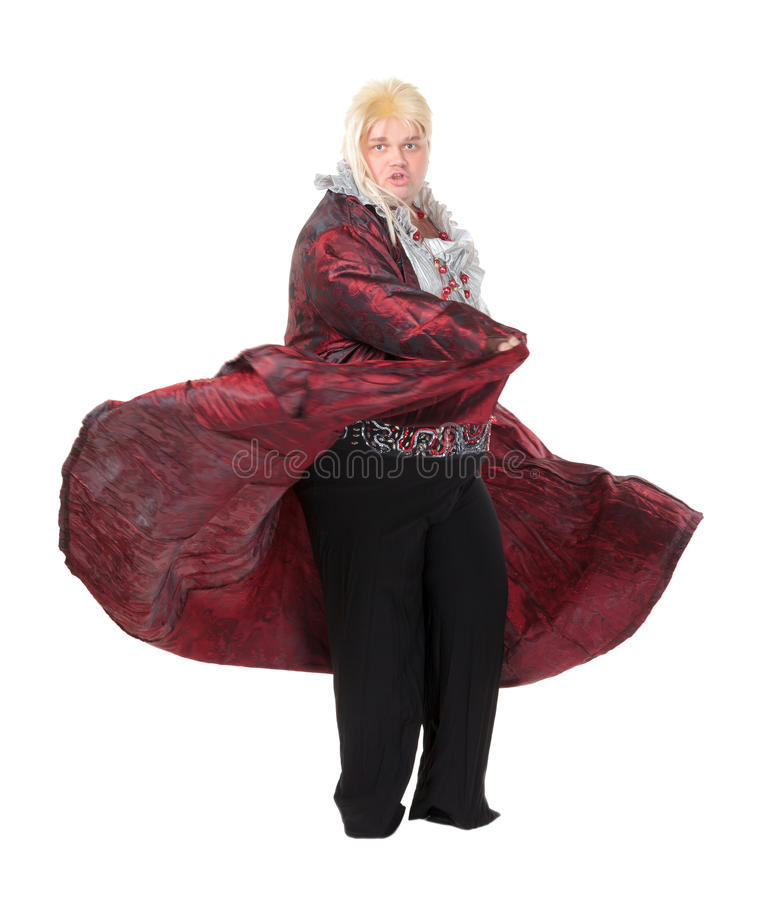 Download Overweight Entertainer Or Disillusioned Drag Queen Stock Image - Image: 28962031