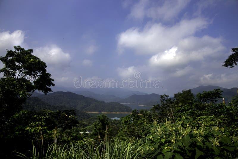 Overweldigende mening van Duizend Meereiland in nieuw Taipeh, Taiwan royalty-vrije stock foto's