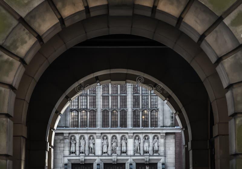 Overwelfde galerij aan Aston Webb stock fotografie