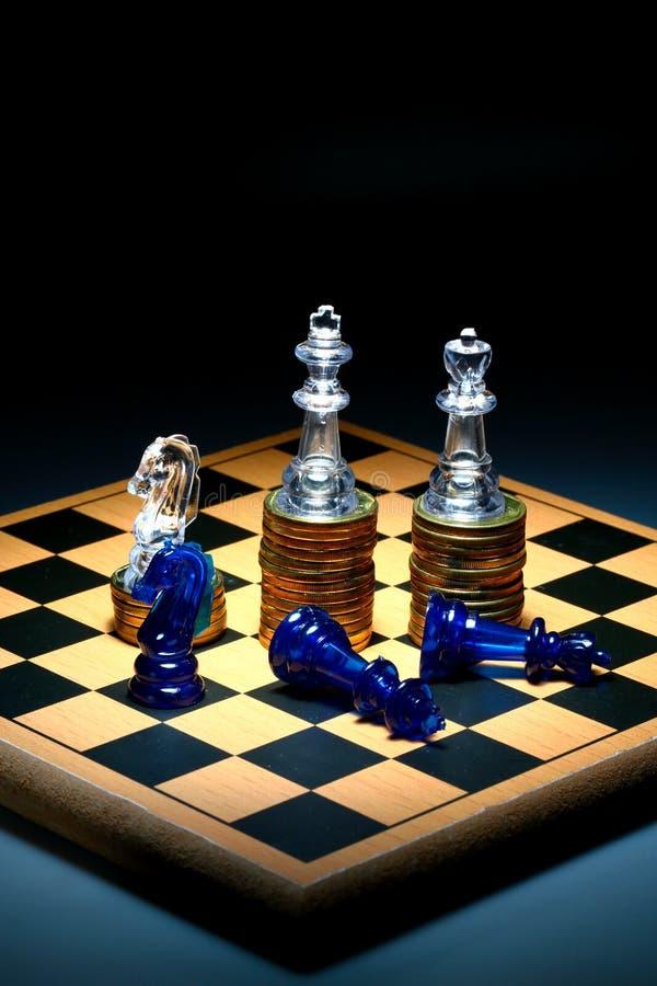 Overwinning en Nederlaag stock illustratie