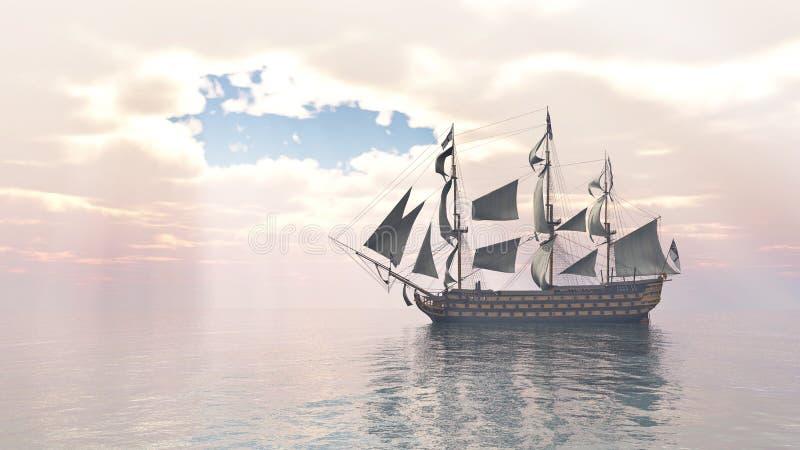Download Overwinning HMS stock illustratie. Illustratie bestaande uit geproduceerd - 54075064