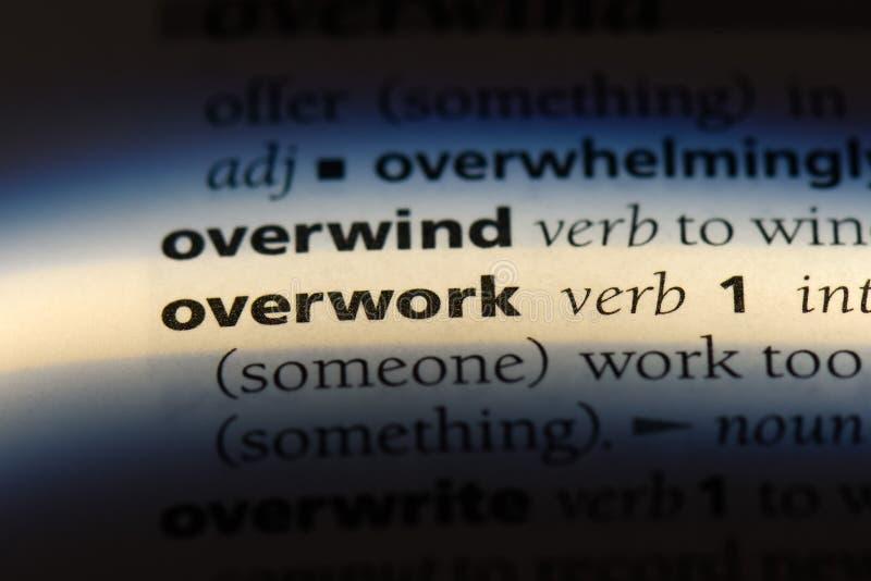 overwork royalty-vrije stock foto's