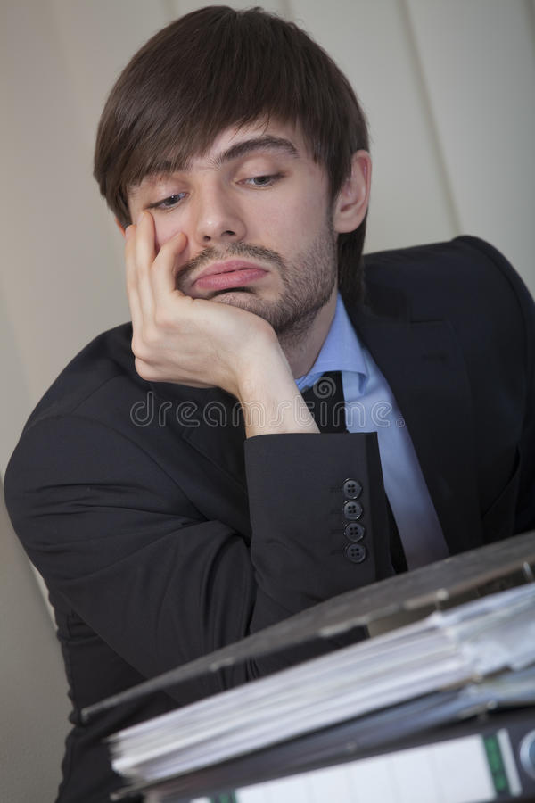 Overworked Royalty Free Stock Image