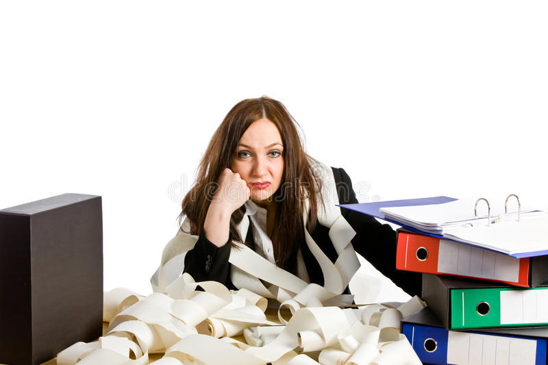 Download Overworked stock image. Image of tired, undone, adult - 21964773