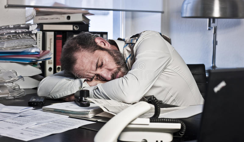 Download Overworked Businessman stock photo. Image of business - 22237856
