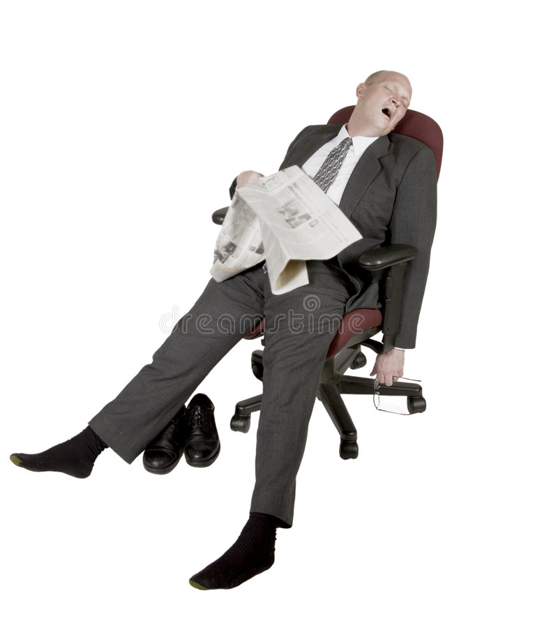 Download Overworked And Exhausted Businessman Stock Photo - Image of honest, balding: 1026276