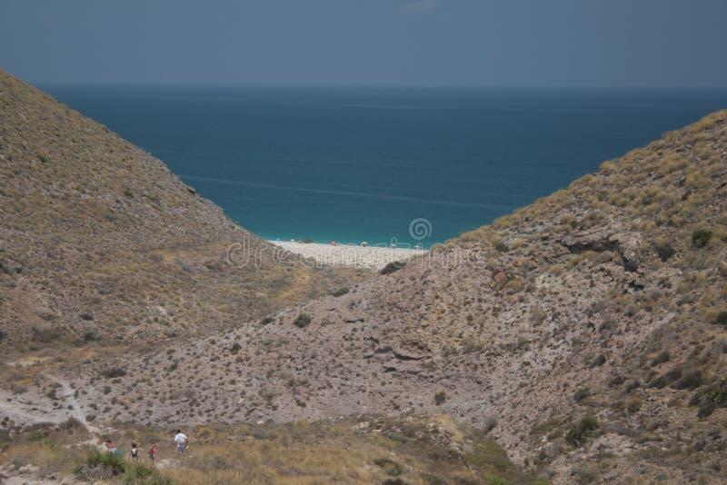 Overzees Andalucia stock afbeeldingen
