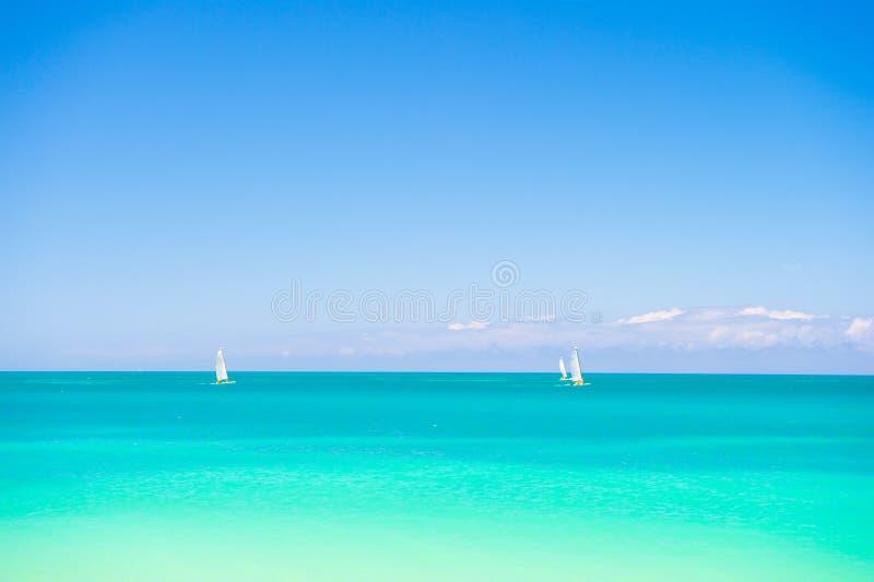 Overzees de zomerconcept, Antigua royalty-vrije stock fotografie