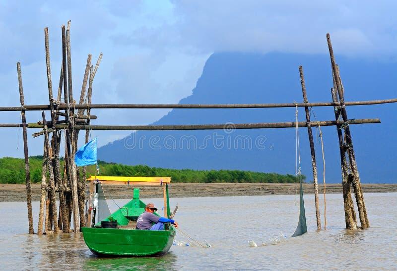 Overzees het Zuid- van China, Borneo, Maleisië royalty-vrije stock afbeeldingen