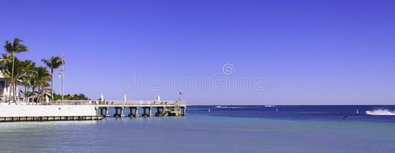 Overzees in Key West royalty-vrije stock afbeelding