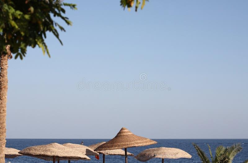 Overzees landschap, Egypte, Sharm el Sheikh royalty-vrije stock foto