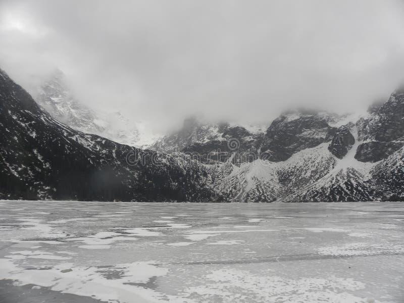 Overzees Oog in Zakopane stock foto