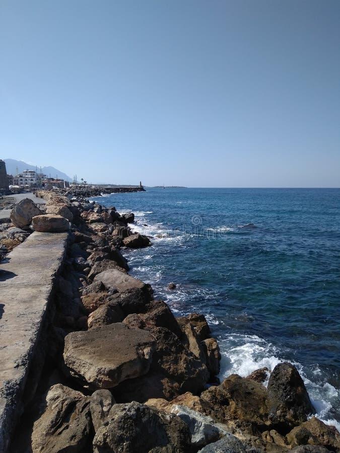 Overzees op Cyprus royalty-vrije stock fotografie