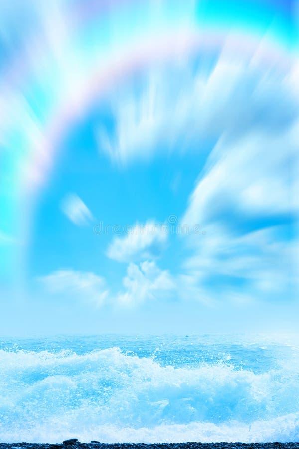 Overzees strand stock afbeeldingen