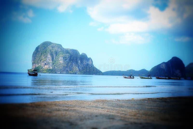 Overzees Thailand Mooi eiland stock foto