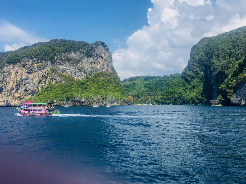 Overzees Thailand Mooi eiland stock afbeelding