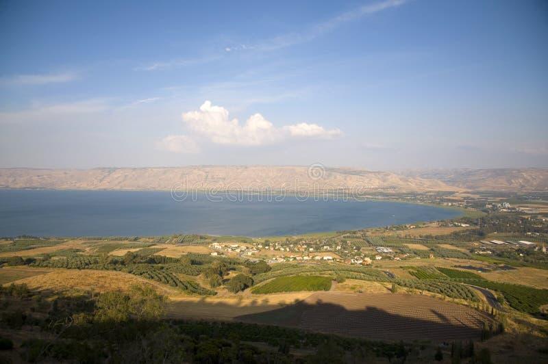 Overzees van Galilee stock foto