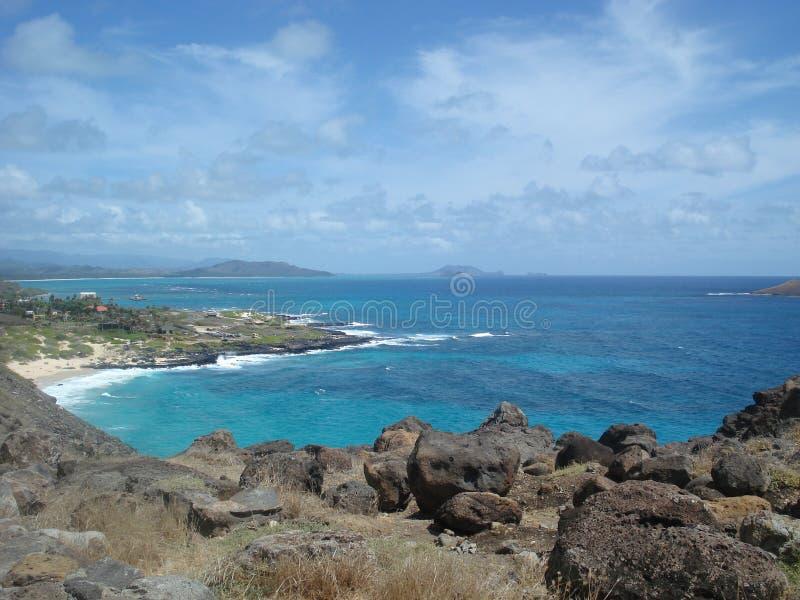 Overzees van Hawaï stock foto's