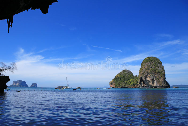 Download Overzees Van Krabi Thailand Stock Afbeelding - Afbeelding bestaande uit openlucht, romantisch: 29507623