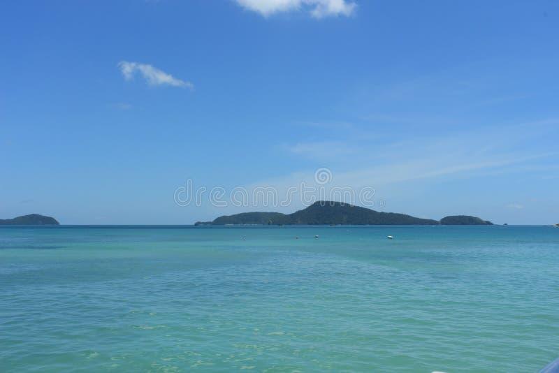 Overzees van phuket stock foto's