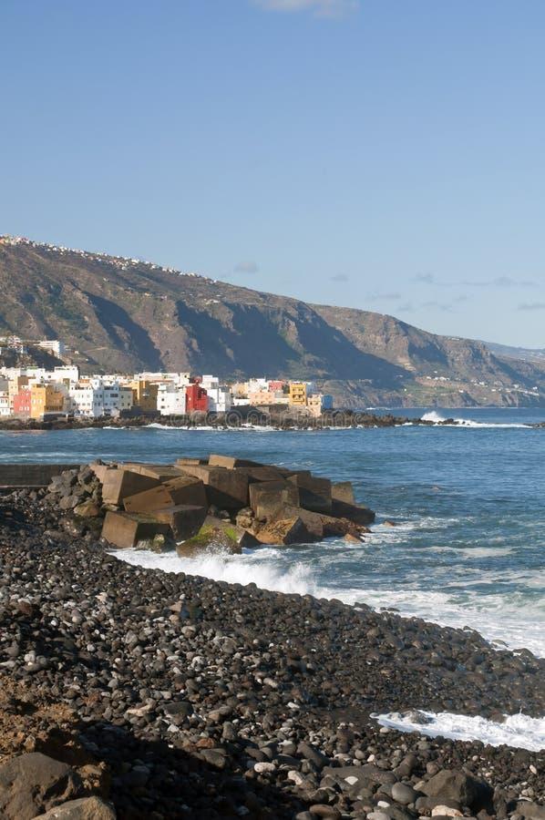 Overzees van Punta Brava royalty-vrije stock foto