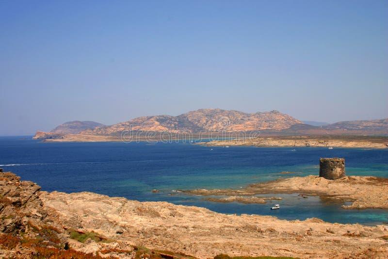Overzees van Sardinige stock fotografie