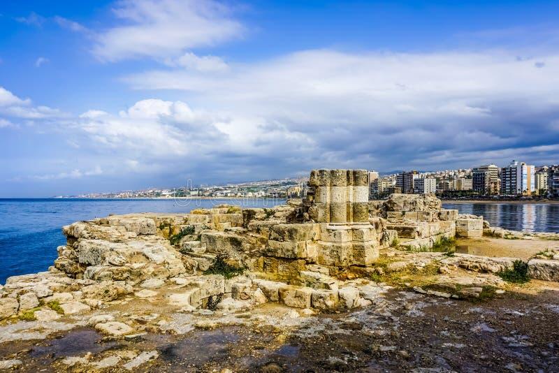 Overzees van Sidonkruisvaarders Kasteel 15 royalty-vrije stock afbeeldingen