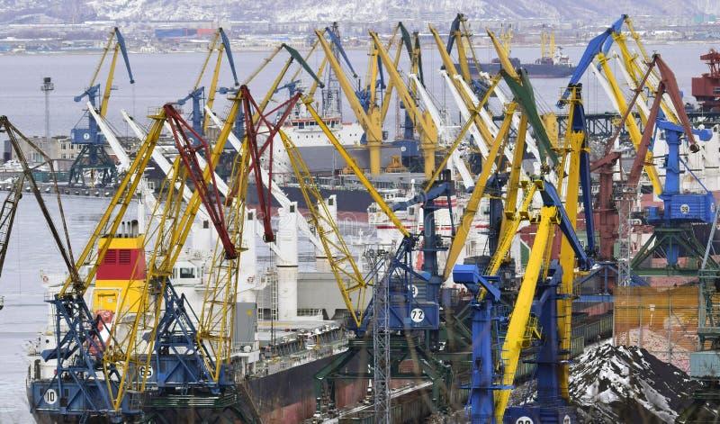 Overzees vervoer van lading royalty-vrije stock foto
