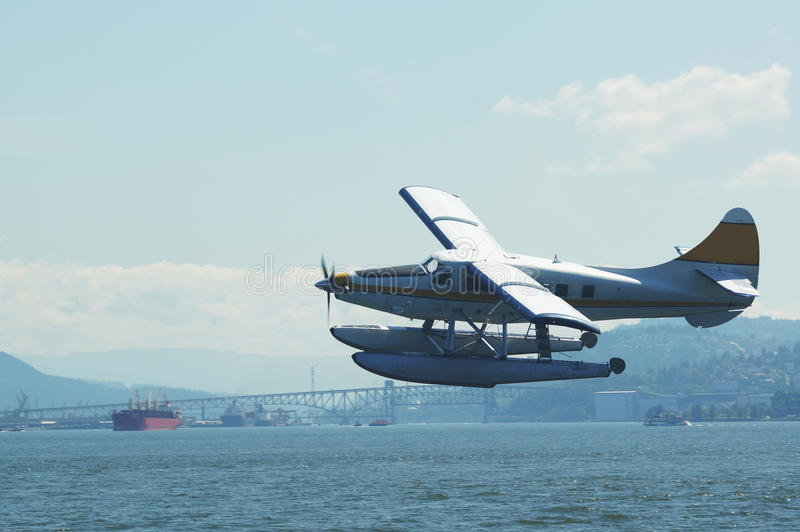 Overzees Vliegtuig stock fotografie