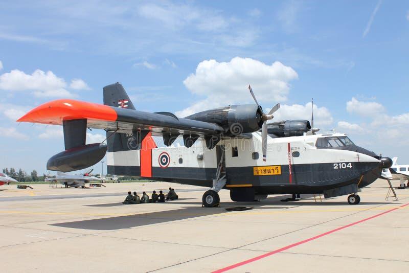 Overzees vliegtuig van Thailand stock foto's