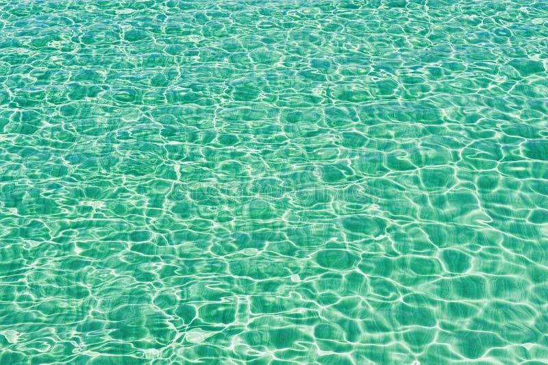 Overzees watertextuur stock foto's