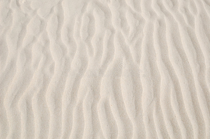 Overzees zand stock foto
