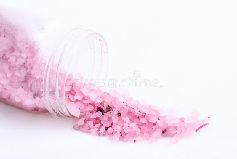 overzees zout voor badclose-up royalty-vrije stock afbeelding