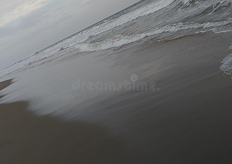 Overzeese golven van verschillende textuur royalty-vrije stock foto's