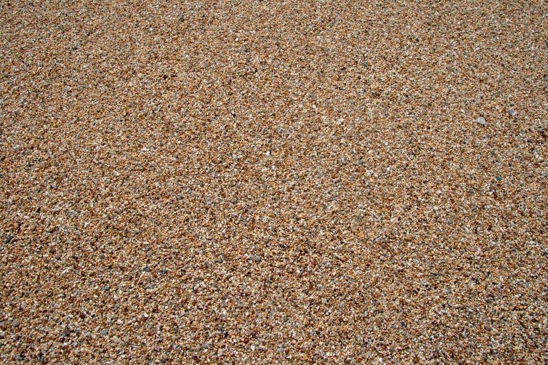 Overzeese kiezelsteentextuur Kleine multicolored kiezelsteenstenen Sluit omhoog de oppervlakte van strandstenen stock foto's