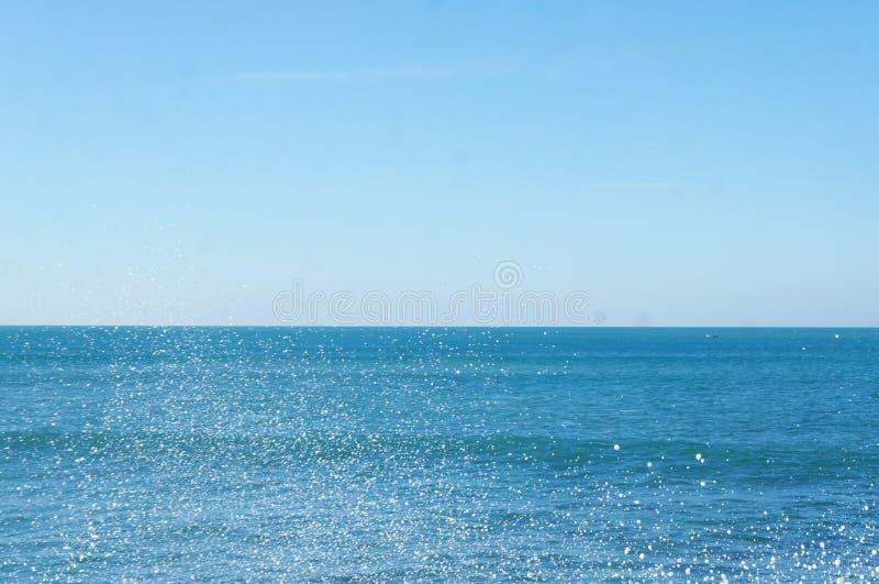 Overzeese nevel in de Oceaan royalty-vrije stock foto's