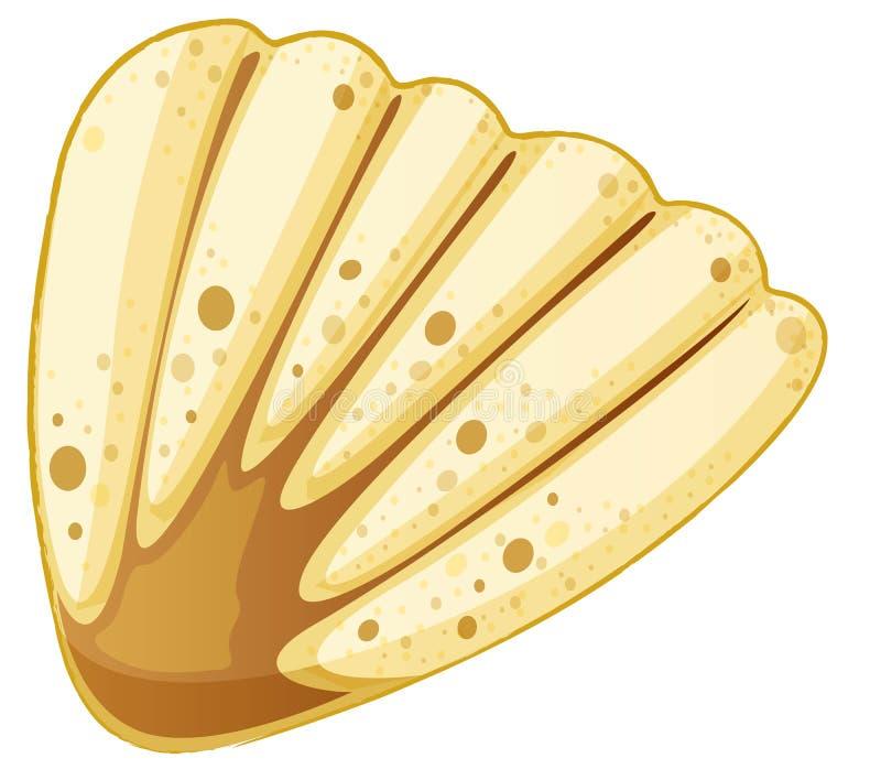 Overzeese shell royalty-vrije illustratie
