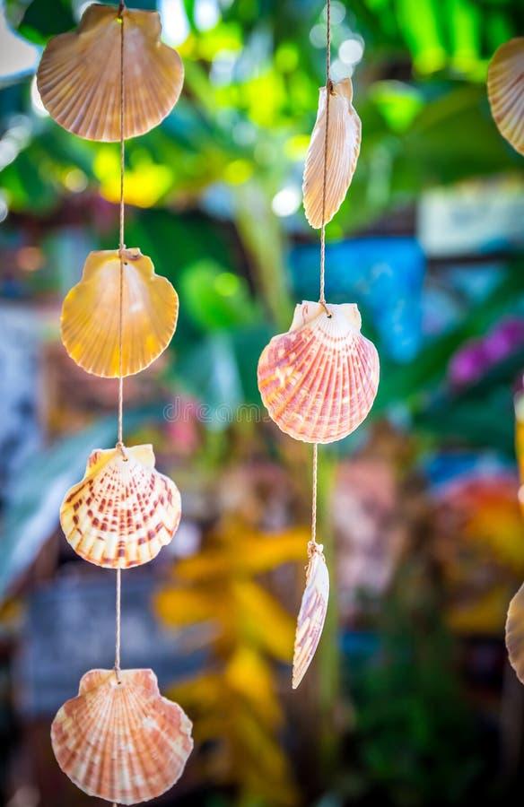 Overzeese Shells Herinneringen stock foto's