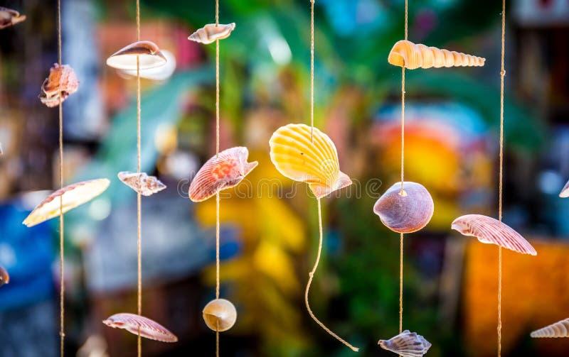 Overzeese Shells Herinneringen stock fotografie