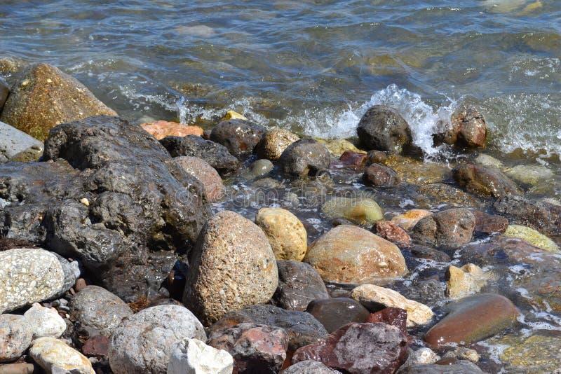 Overzeese steen royalty-vrije stock foto