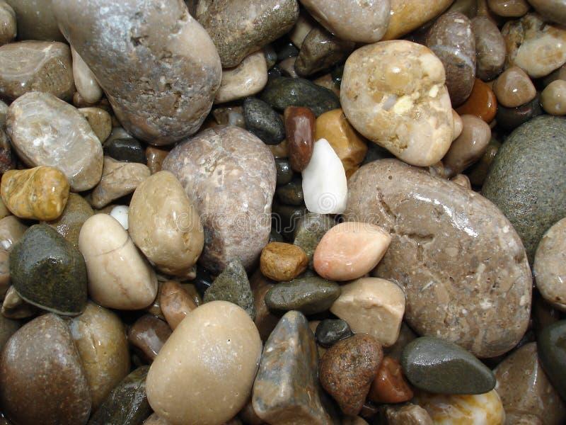 Overzeese Stenen stock foto's